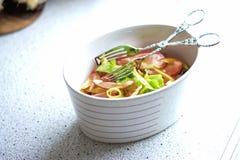 Salad bowl Royalty Free Stock Images