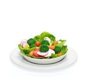 Salad bowl Stock Photography