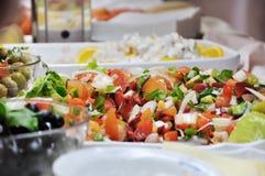 Salad bowls Royalty Free Stock Images