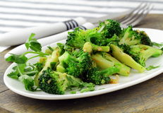 Salad with broccoli Royalty Free Stock Photos