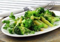 Salad with broccoli Royalty Free Stock Photos