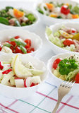 Salad buffet Royalty Free Stock Photography