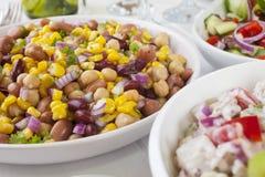 Salad Buffet Stock Photo