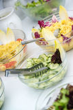 Salad buffet Royalty Free Stock Images