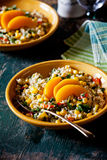 Salad With Bulgur And Vegetables Royalty Free Stock Photos