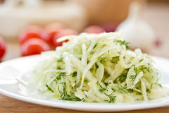 Salad of cabbage Royalty Free Stock Image