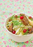 Salad from cabbage Royalty Free Stock Photography