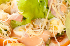 Salad caeser Royalty Free Stock Images