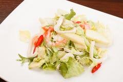 Salad with calamari Stock Photography