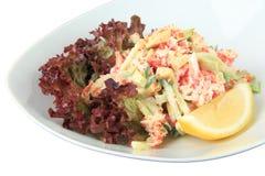 Salad California closeup Stock Photos
