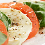 Salad caprese Stock Images