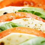 Salad caprese Stock Photo
