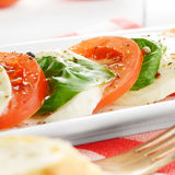 Salad caprese Stock Photography