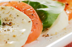Salad caprese Royalty Free Stock Photos