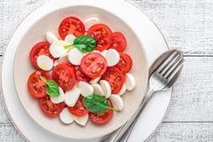 Salad caprese Stock Photo