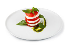 Salad caprese Royalty Free Stock Photo