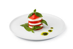 Salad caprese Stock Images