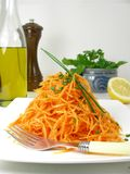 Salad of carrots 5 royalty free stock photo