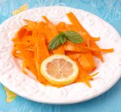 Salad of carrots Stock Photo