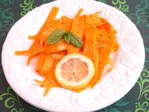 Salad of carrots Royalty Free Stock Photo