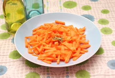 Salad of carrots Stock Image