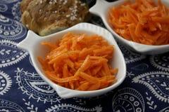 Salad of carrots Royalty Free Stock Photos