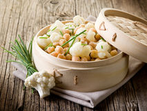Salad with cauliflower Stock Images
