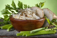 Salad of celery Royalty Free Stock Photography