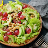 Salad with chick-pea Stock Photo