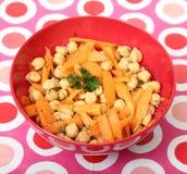 Salad of chick peas Stock Photos