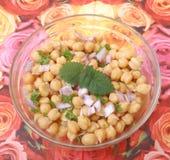 Salad of chick peas Stock Photo