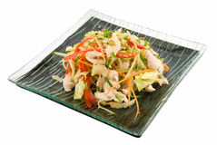 Salad with chicken Stock Image