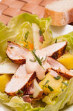 Salad with chicken breast Royalty Free Stock Photo