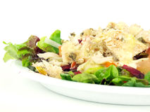 Salad with chicken2 Royalty Free Stock Photos