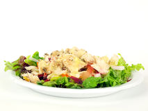 Salad with chicken3 Royalty Free Stock Images