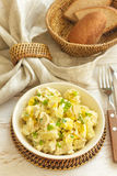 Salad of chicken breast with pineapple Royalty Free Stock Photography