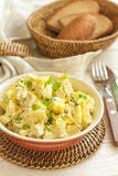 Salad of chicken breast with pineapple Stock Images