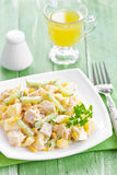 Salad with chicken and pineapple Stock Photography