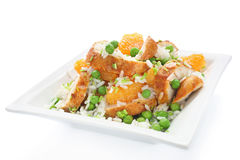 Salad with chicken Royalty Free Stock Photo