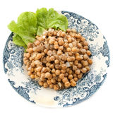 Salad of Chickpea Royalty Free Stock Photography