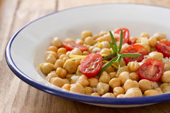 Salad with chickpea Royalty Free Stock Photo