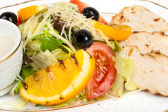 Salad with chiken Stock Photos