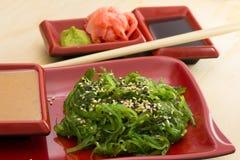 Salad chuka Royalty Free Stock Image