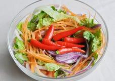 Salad closeup Stock Photo