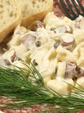 Salad, closeup Royalty Free Stock Images