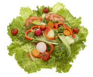Salad closeup 3 Royalty Free Stock Photos
