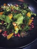 Salad. Colorful salad as dinner Royalty Free Stock Photos