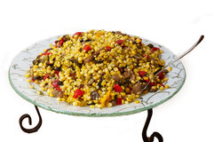 Salad of corn. Royalty Free Stock Images