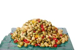 Salad of corn. Royalty Free Stock Photography