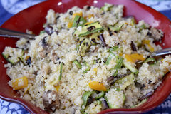 Salad couscous Royalty Free Stock Photography